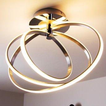 Trio Corland Lámpara de techo LED Cromo, 1 luz