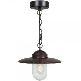 Nordlux LUXEMBOURG Lámpara colgante Color óxido, 1 luz