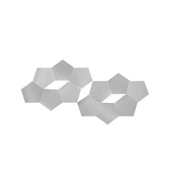 Grossmann Linde Aplique LED Aluminio, 3 luces