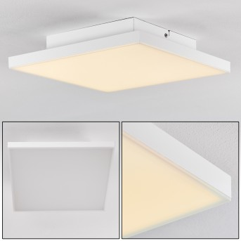 Bankura Lámpara de Techo LED Blanca, 1 luz