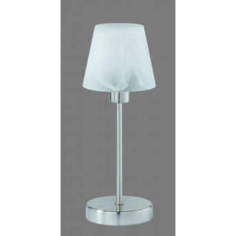 Trio 5955 Lámpara de mesa Níquel-mate, 1 luz