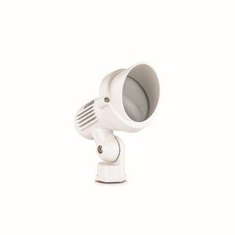 Ideal Lux TERRA Foco proyector de jardín Blanca, 1 luz