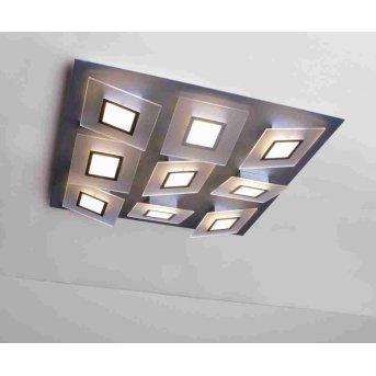 Bopp FRAME Lámpara de techo LED Aluminio, 9 luces