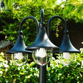 Elgin Candelabro Negro, 3 luces