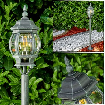 Lentua Lámpara de pie para exterior Negro, Verde, 1 luz