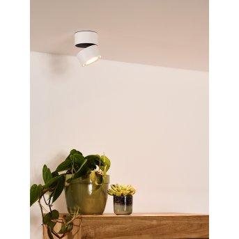 Lucide YUMIKO Lámpara de Techo LED Blanca, 1 luz