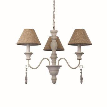 Ideal Lux PROVENCE Lámpara de araña Blanca, 3 luces