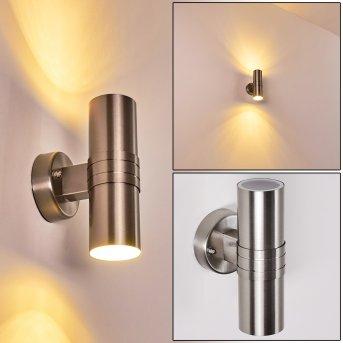 Satava Aplique para exterior LED Cromo, 1 luz