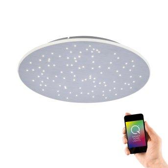 Lámpara de Techo Paul Neuhaus Q-NIGHTSKY LED Aluminio, 1 luz, Mando a distancia