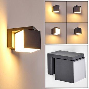 Swanek Aplique para exterior LED Antracita, 1 luz