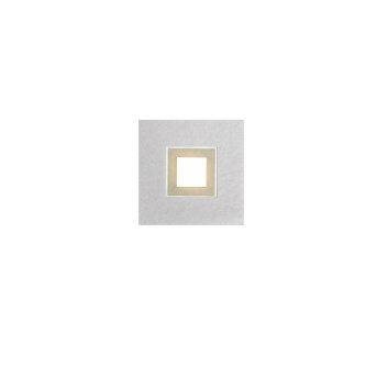 Grossmann KARREE Lámpara de Techo LED Aluminio, champán, 1 luz