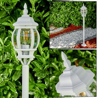 Lentua Lámpara de pie para exterior Blanca, 1 luz