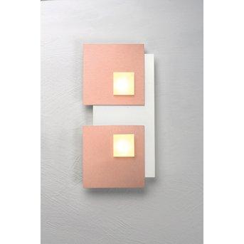 Bopp PIXEL Lámpara de Techo LED Blanca, 2 luces