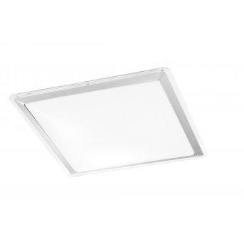 Leuchten-Direkt LABOL Lámpara de techo LED Acero inoxidable, 1 luz