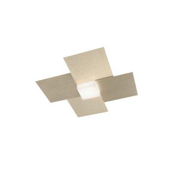 Grossmann Creo Lámpara de Techo LED Color champán, 1 luz