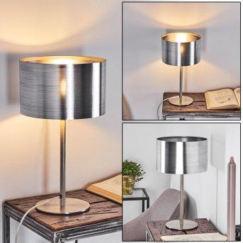 Volos Lámpara de mesa Níquel-mate, 1 luz