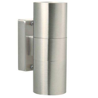 Nordlux TIN Aplique para exterior Acero inoxidable, 2 luces