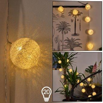 Sondrio Tira de luces LED, 20 luces