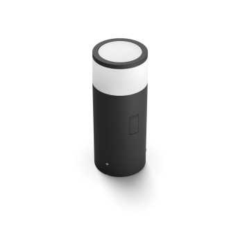 Philips Hue Ambiance White & Color Calla Pedestal, set de extensión LED Negro, 1 luz, Cambia de color