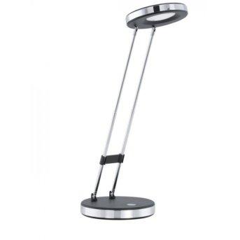 Eglo GEXO Lámpara de mesa LED Cromo, Negro, 1 luz