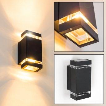 Edevik Aplique para exterior Antracita, 2 luces