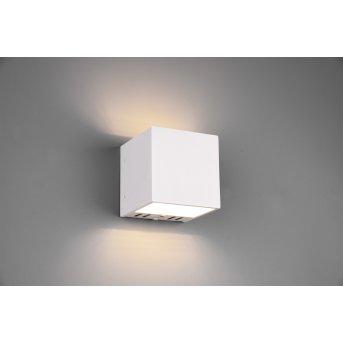Trio Figo Aplique LED Blanca, 1 luz, Mando a distancia, Cambia de color