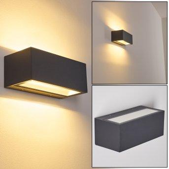 Spidern Aplique para exterior LED Aluminio, 1 luz