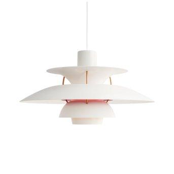 Louis Poulsen Lámpara Colgante Blanca, 1 luz