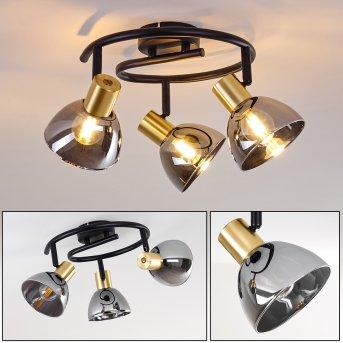 Mariefred Lámpara de Techo Negro, 3 luces