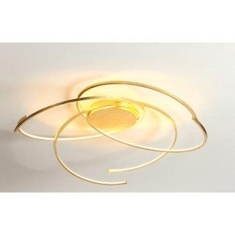 Escale SPACE Lámpara de techo LED dorado, 1 luz