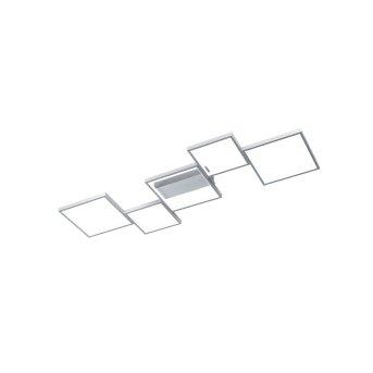 Trio Sorrento Lámpara de Techo LED Aluminio, 1 luz