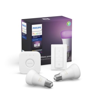 Philips Hue LED Ambiance White & Color E27 Starter-Set de 2