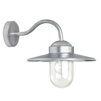 KS Verlichting Dolce Aplique Acero inoxidable, 1 luz