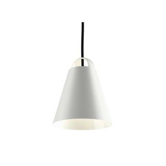 Louis Poulsen ABOVE Lámpara Colgante Blanca, 1 luz