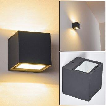 Spidern Aplique para exterior LED Antracita, 1 luz