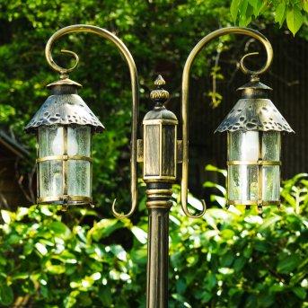 Tolep Candelabro Negro-dorado, 2 luces