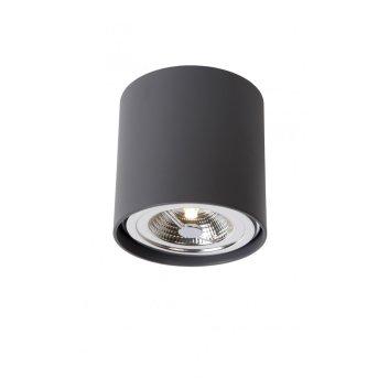 Lucide DIALO-LED Foco para techo Negro, 1 luz