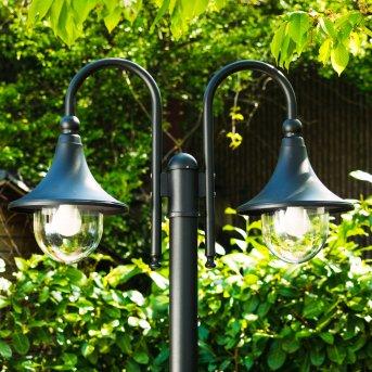 Elgin Candelabro Negro, 2 luces