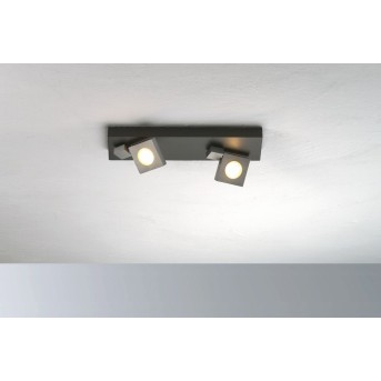 Bopp Flash Lámpara de Techo LED Negro, Antracita, 2 luces