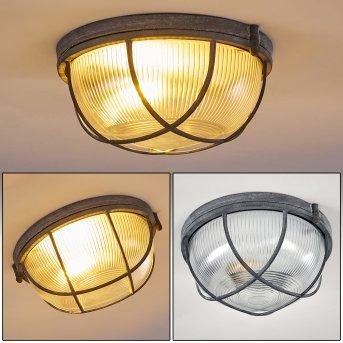 Hanalei Lámpara de Techo Gris, 1 luz