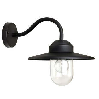 KS Verlichting Dolce Aplique Negro, 1 luz