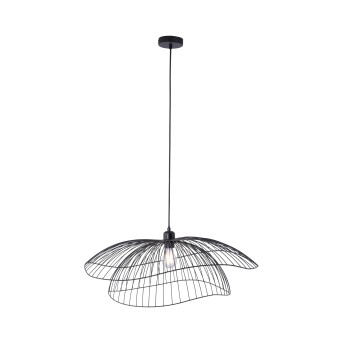 Lámpara Colgante Leuchten Direkt FABIO Negro, 1 luz