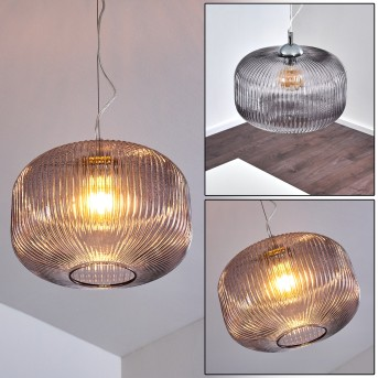 Molndal Lámpara Colgante Cromo, 1 luz