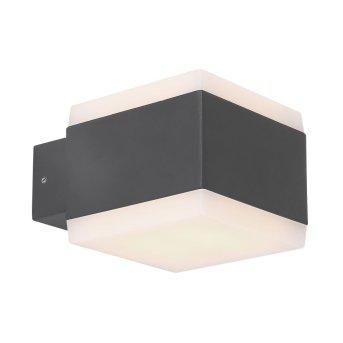 Lámpara para exterior Globo SLICE LED Antracita, 1 luz, Cambia de color