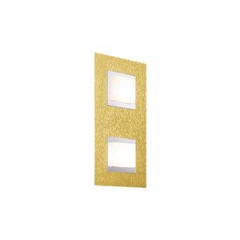 Grossmann BASIC Lámpara de techo o pared LED Latón, 2 luces