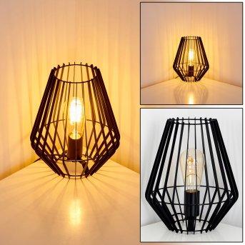 Svensbyn Lámpara de Mesa Negro, 1 luz