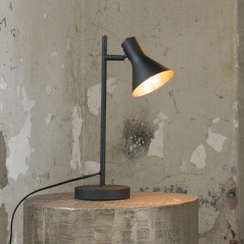 Bokelte Lámpara de Mesa Negro, 1 luz