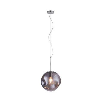Lámpara Colgante Paul Neuhaus SCARLETT Colores ahumados, 1 luz