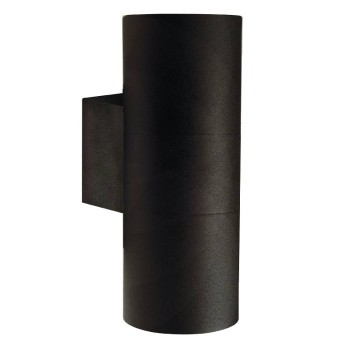 Nordlux TIN Aplique para exterior Negro, 2 luces