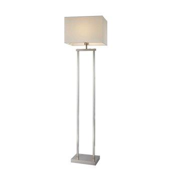 Nino Leuchten SYDNEY Lámpara de Pie LED Níquel-mate, 2 luces